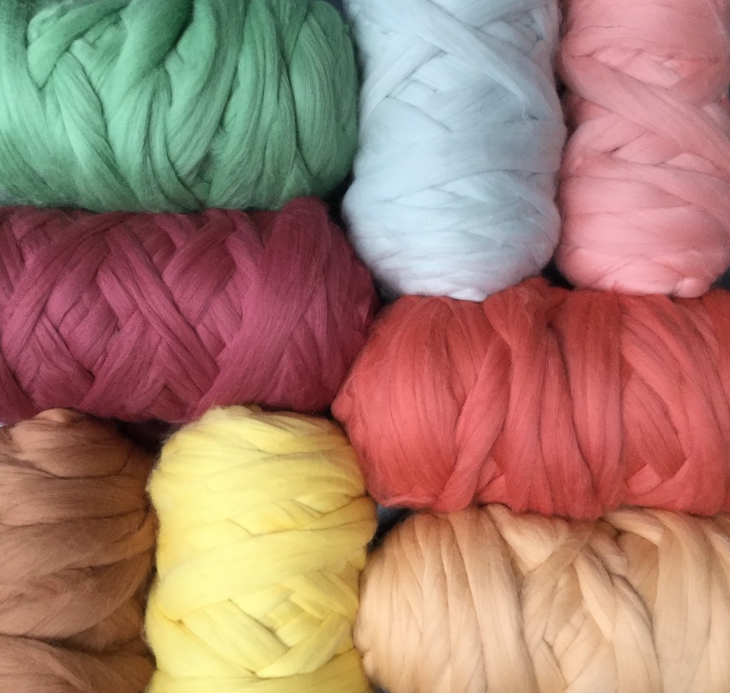 Extra Fine Merino Wool Tops - Natural Dyes - Dhg