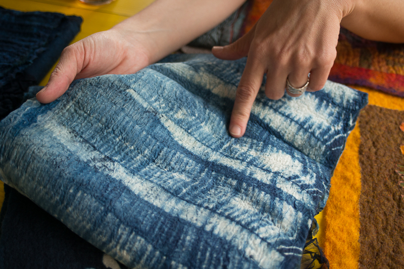 Tips & Tricks - perfect nuno felting with Gaia Girard
