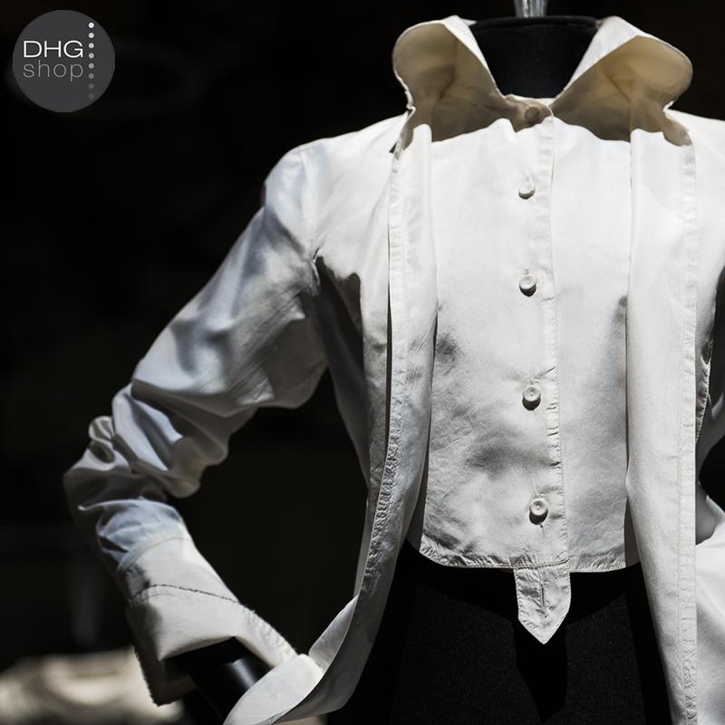 Fabric and shirt: Gianfranco Ferrè at MdT