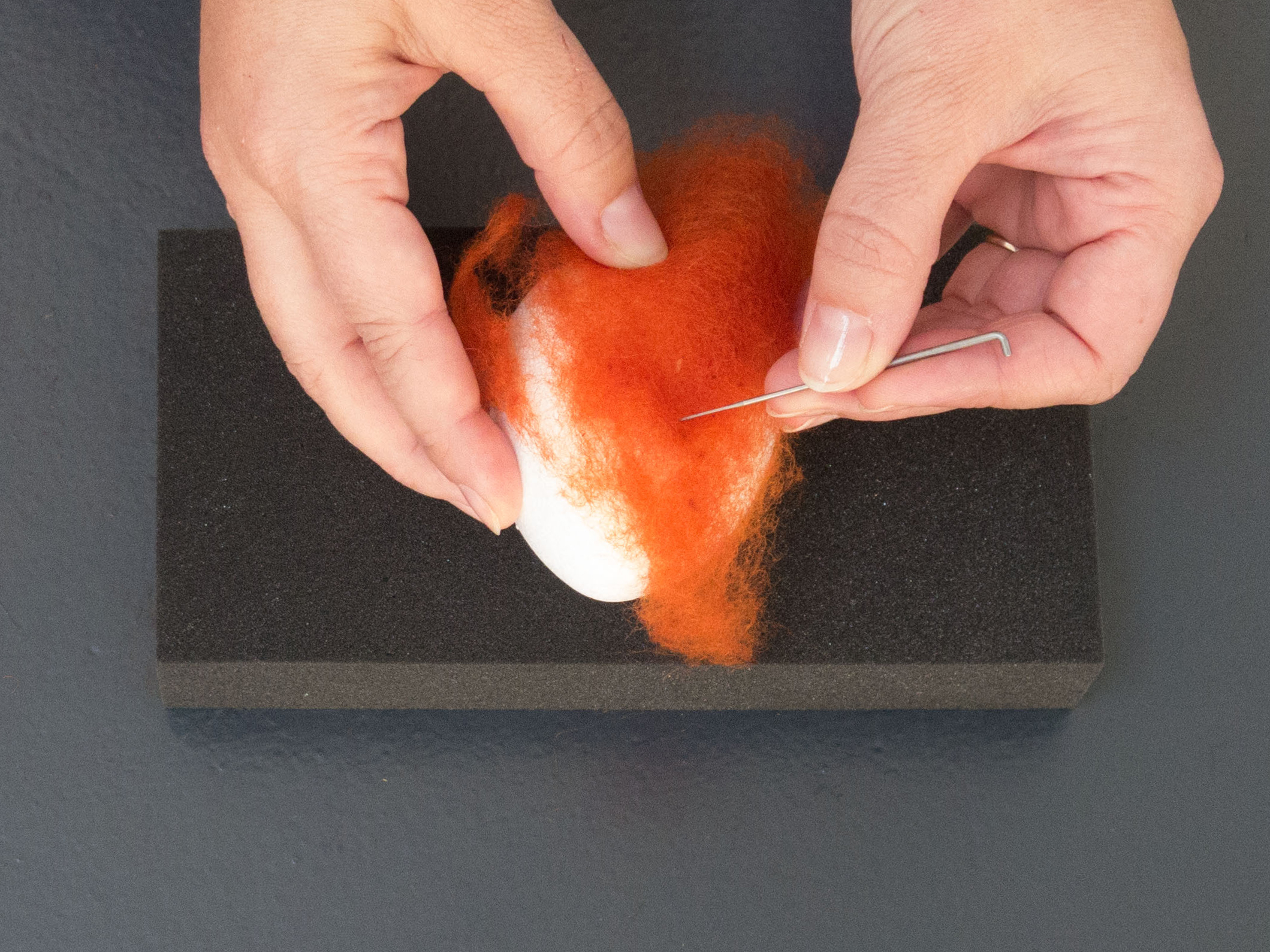 1. Needle felting tutorial