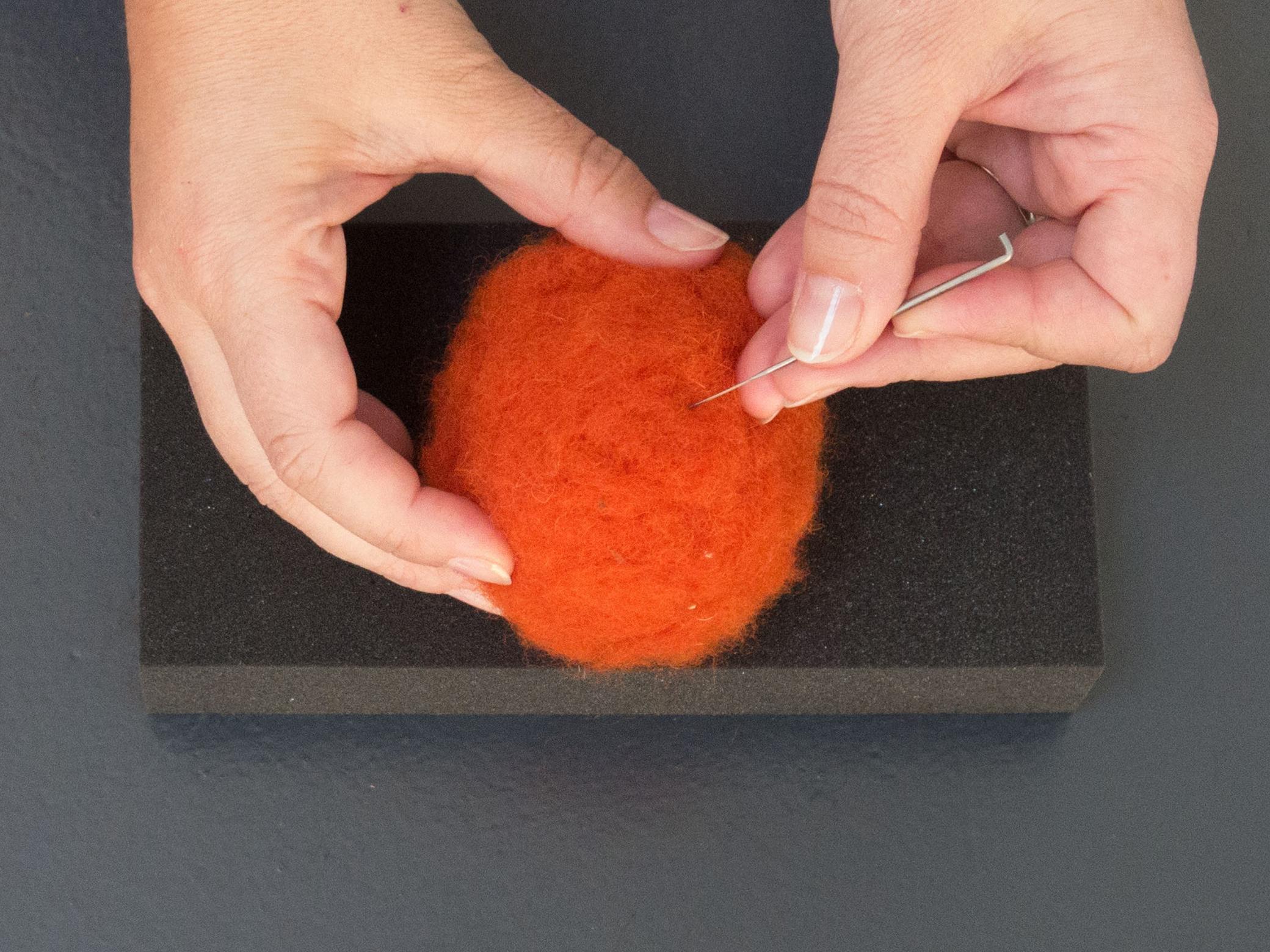 2. Needle felting tutorial