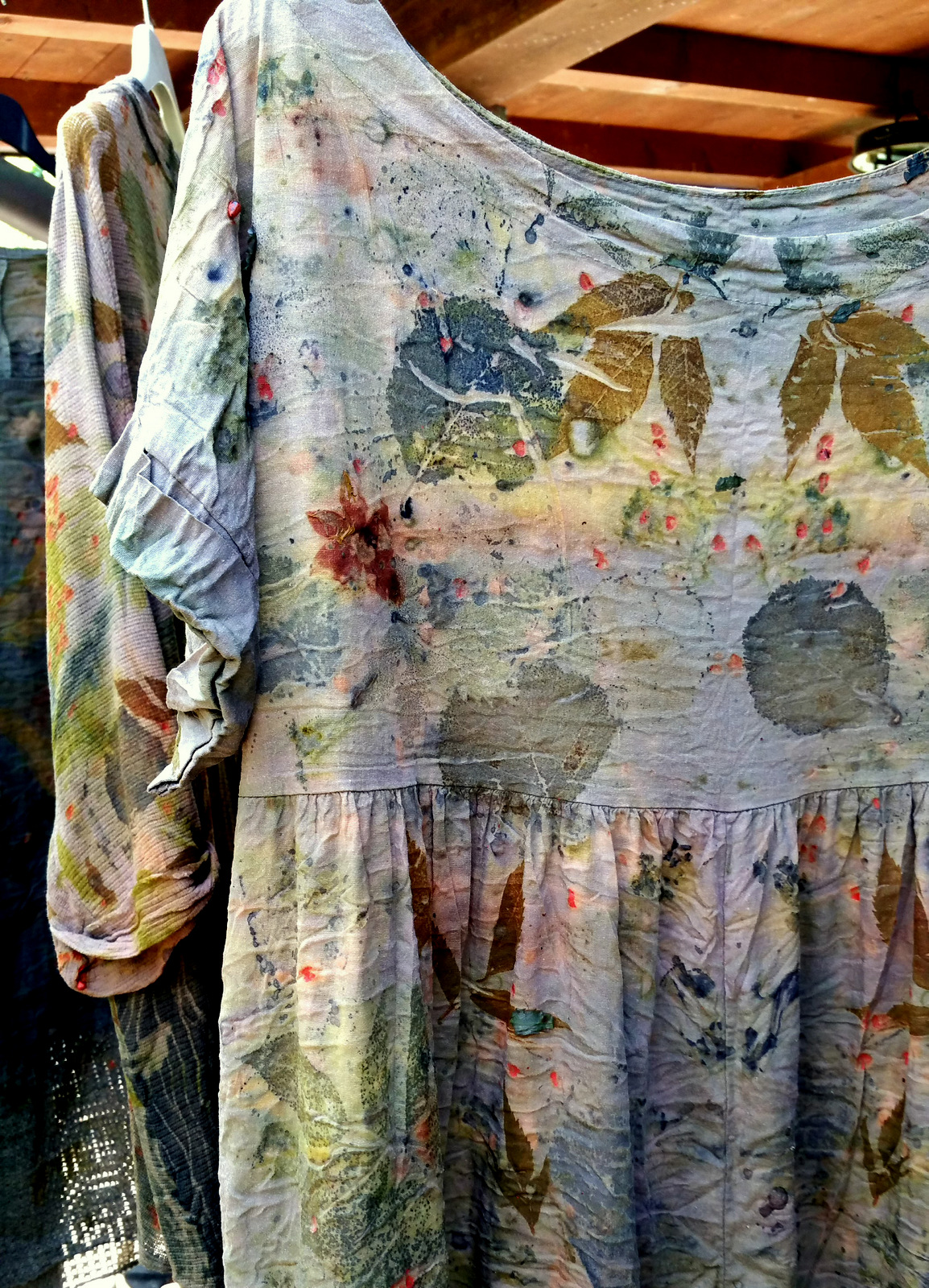 Eco-printing with Laura Dell'Erba