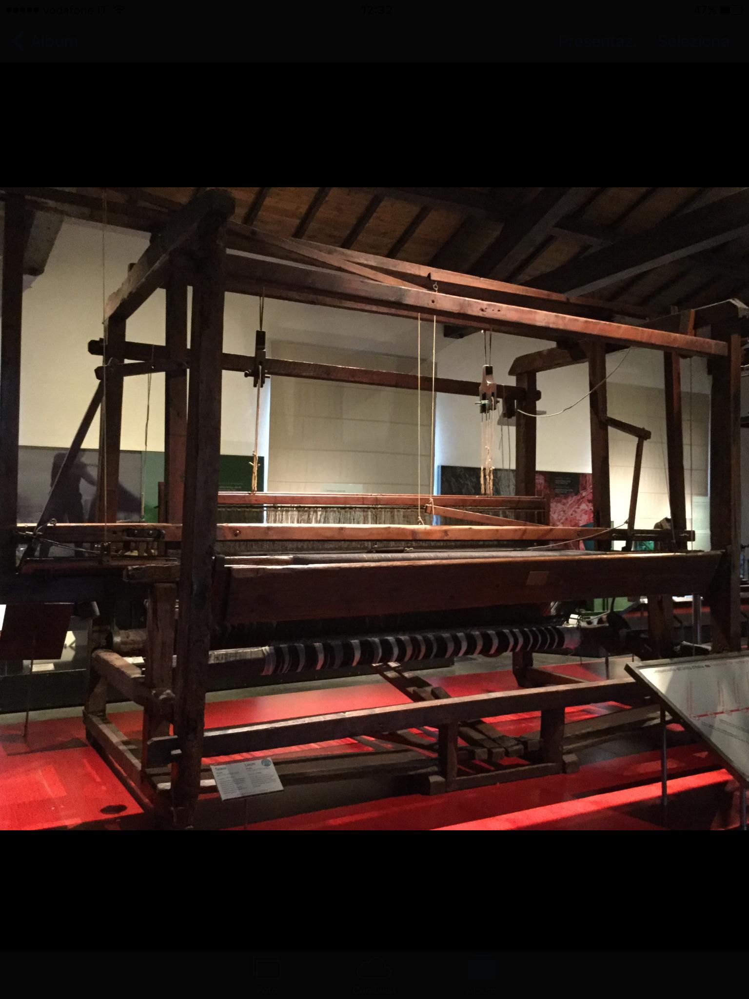 Exhibition at Museo del Tessuto