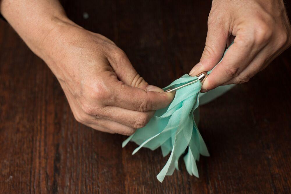 silk chiffon ribbons