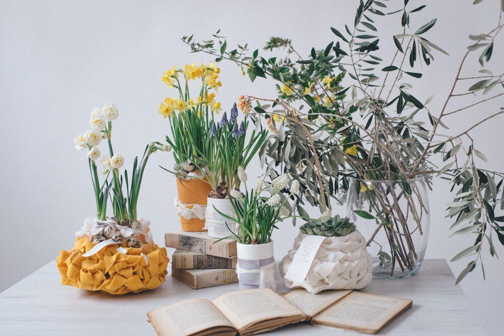 floral design - fiori e vasi da favola