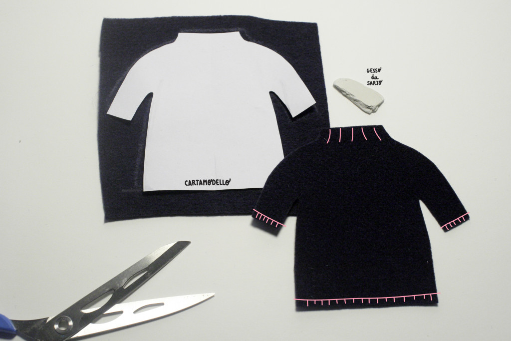 clothes tutorial - susy the bear tacking