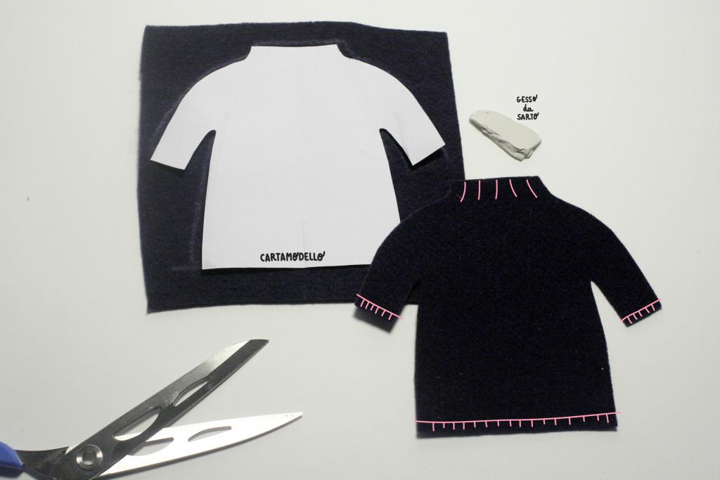 tutorial vestito - imbastitura vestito orsa