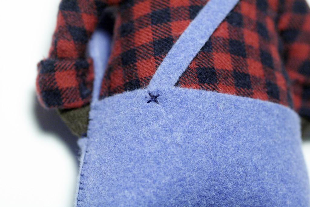 clothes tutorial - blanket stitch