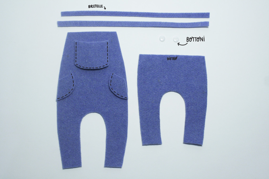 clothes tutorial - bear overalls