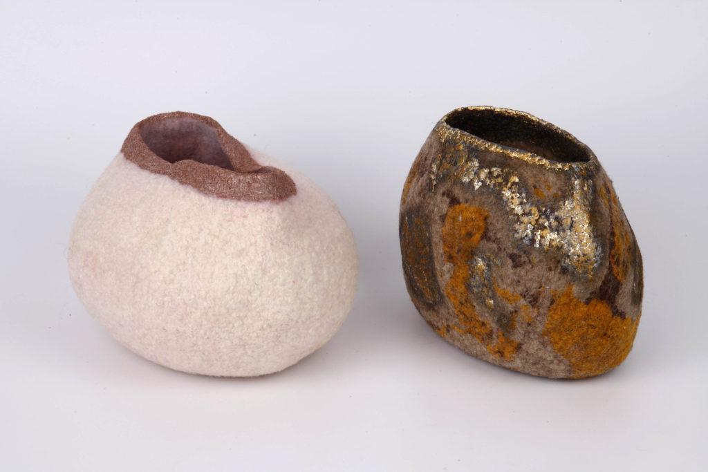 Ricarda Aßmann - Felt vases