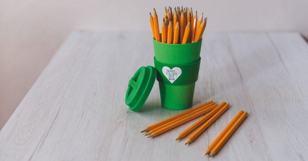 mug in fibra di bamboo