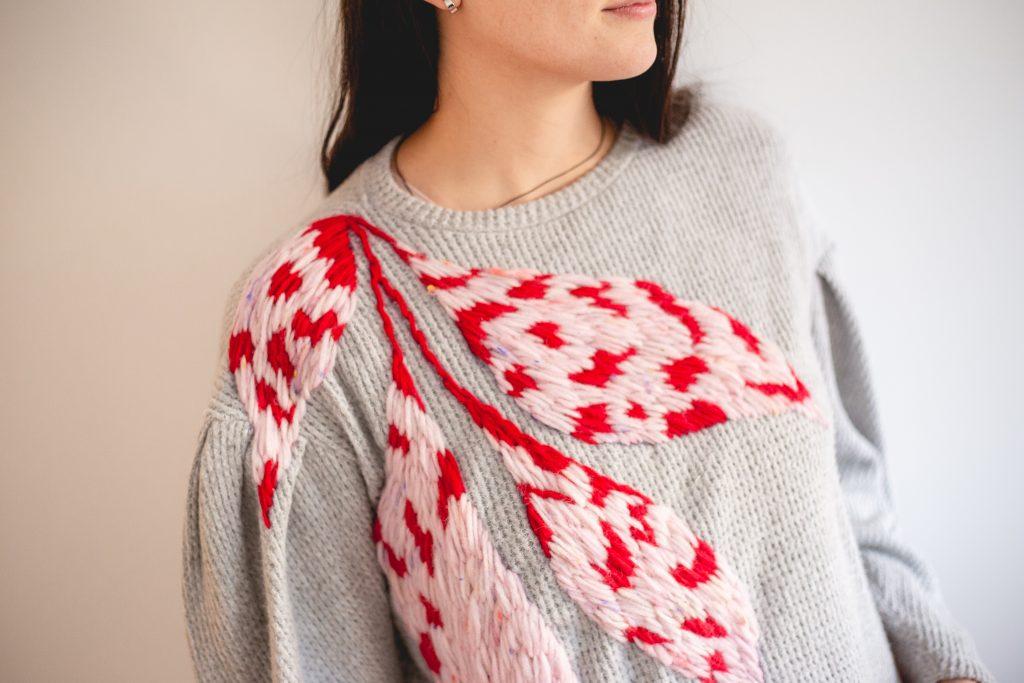 Trini Guzmàn - embroidery and yarns