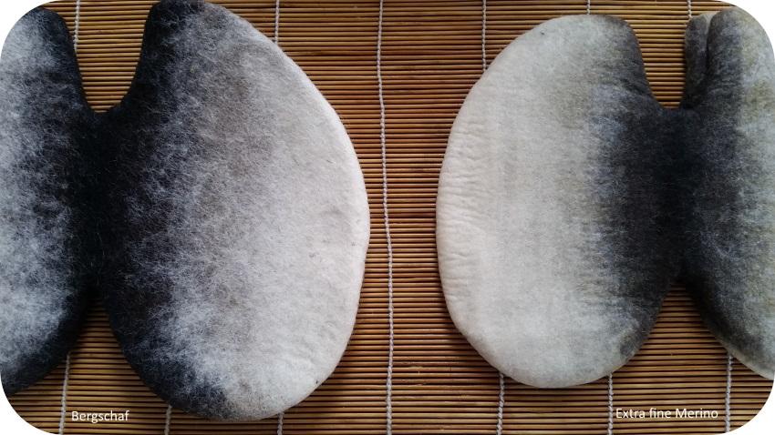 la lana bergschaf è più pelosa