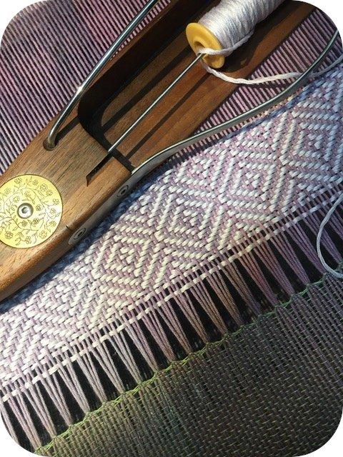 victoria manganiello textile artist - tesse il nostro tops extra fine
