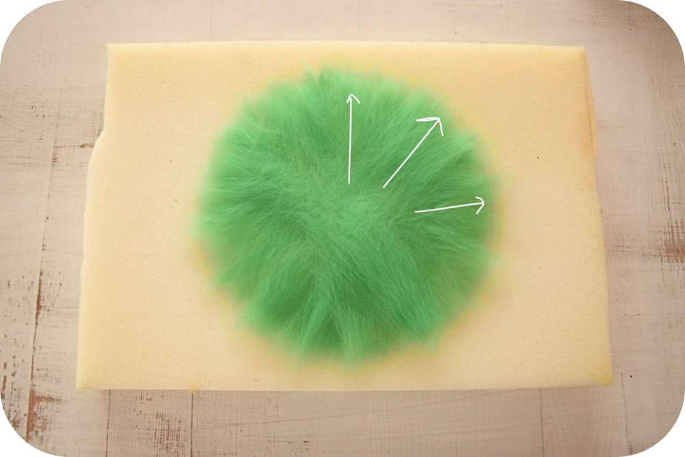 Tutorial: how to make felt fat plants