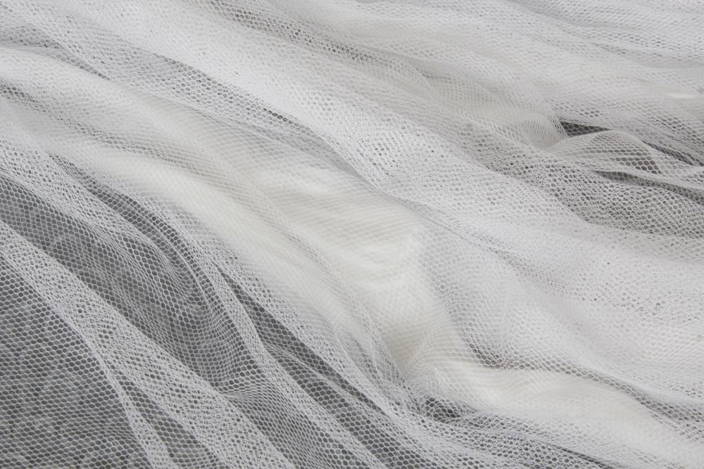 tulle e nuno feltro con la lana