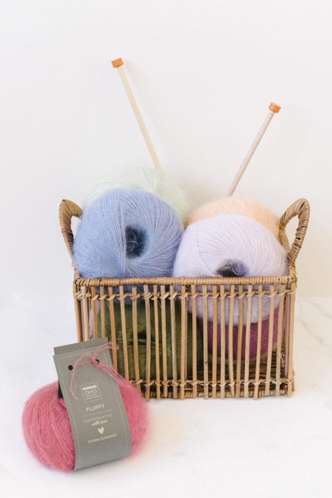 filato mohair e seta - Fluffy