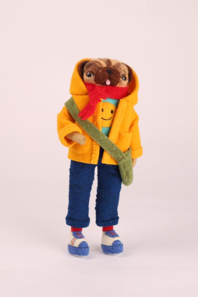 Мопс мастера Cat Rabbit из нашей экстратонкой шерсти мериноса