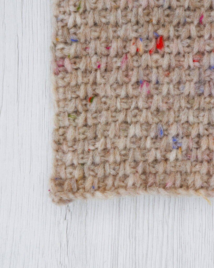 Baby Alpaca - Tweed Stitch