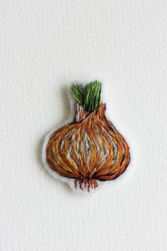 Defne Güntürkün and the embroidered patches