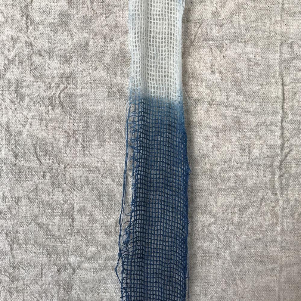 natural dye with indigo