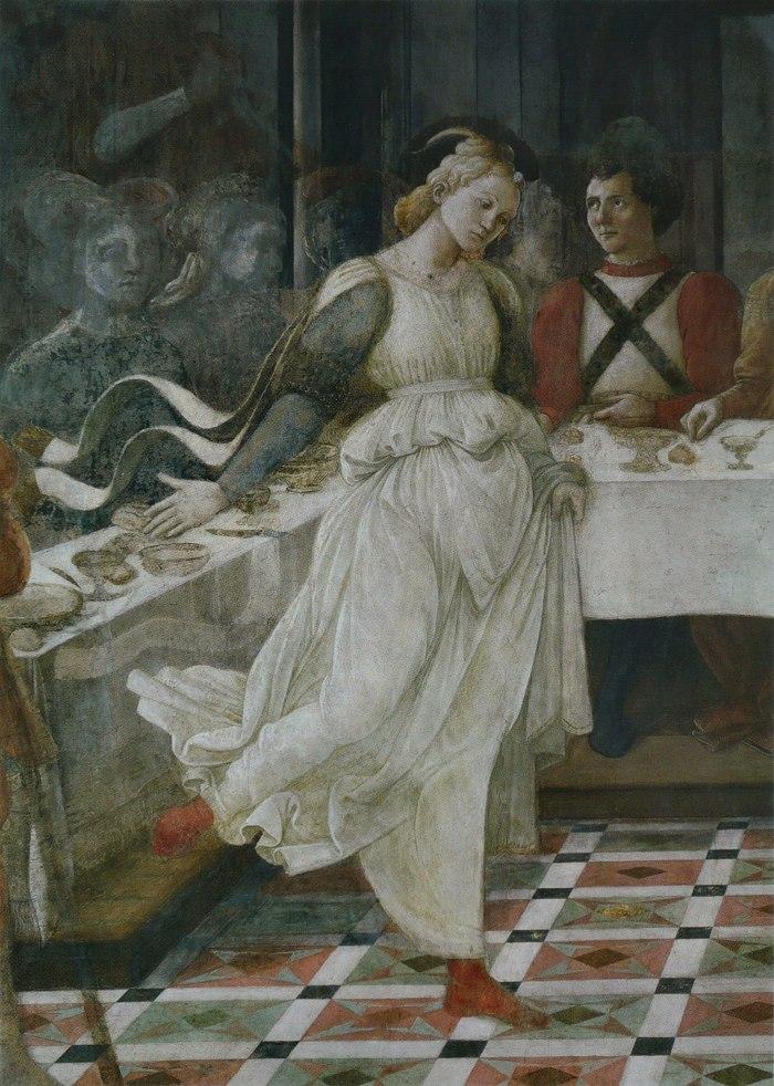 Filippo Lippi The Feast of Herod