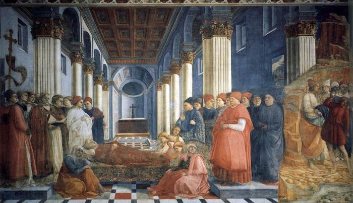 Filippo Lippi The Funeral of St. Stephen