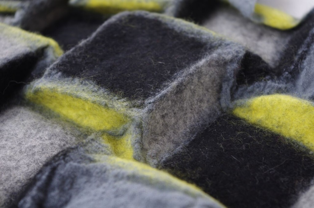 Andrea Noeske Porada felt sculptures
