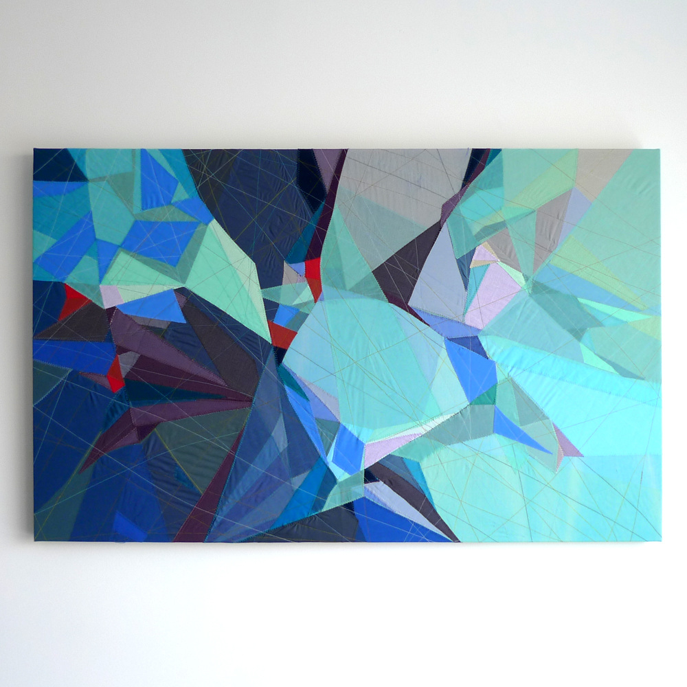 Sarah Symes - Abstract Mountain Landscape No. 4