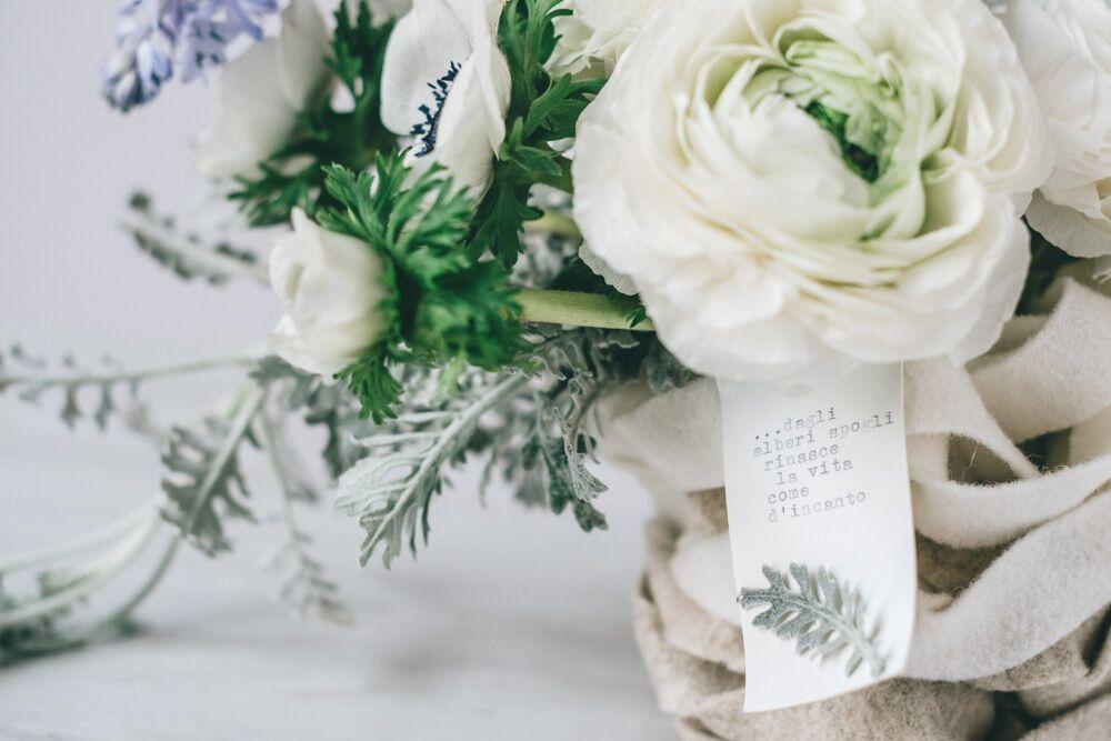 floral design - felt baskets