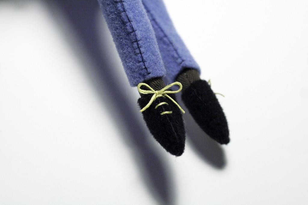 Tutorial vestito - Dettaglio scarpette orso Jos�