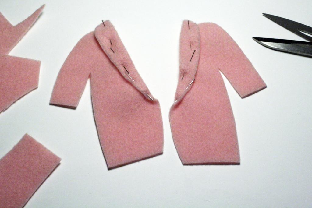 tutorial vestito - cappotto bambola camilla