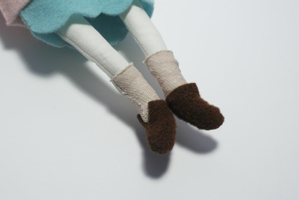 tutorial vestito - scarpette bambola camilla
