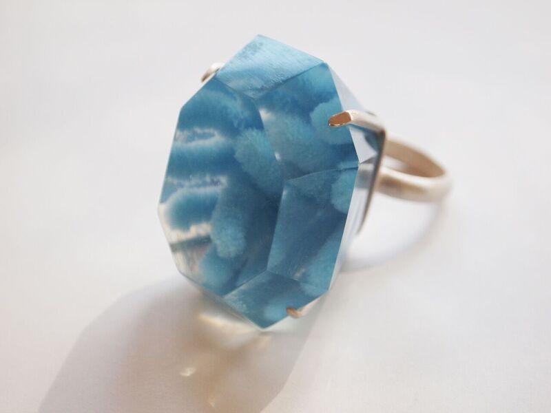 mariko kusumoto - resin ring
