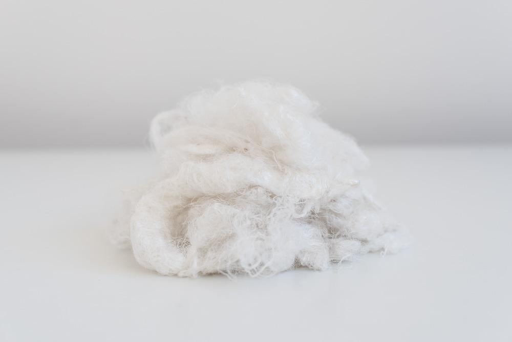 Cascami di seta sari greggi