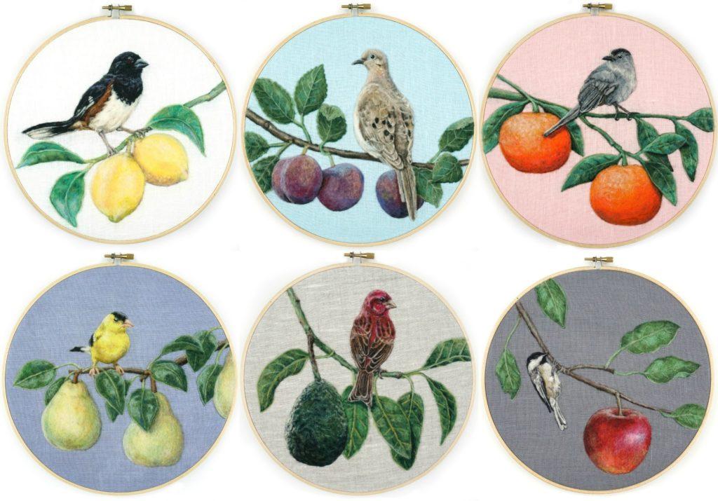 Dani Ives - Birds and Feathers needle felting