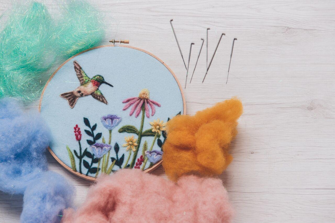 Dani Ives - needle felt artist