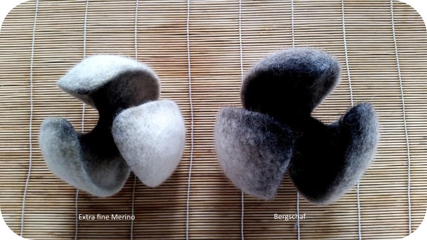 bergschaf wool is hairy