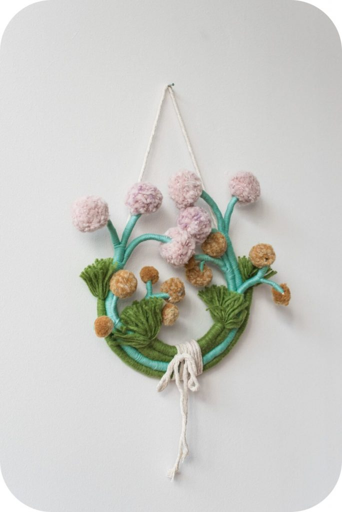 Mandi Smethells - поэтичный fiber art
