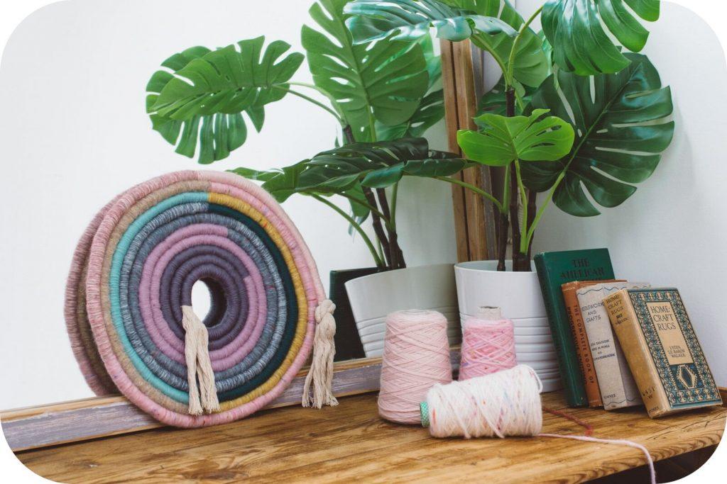 Mandi Smethells - текстильные радуги
