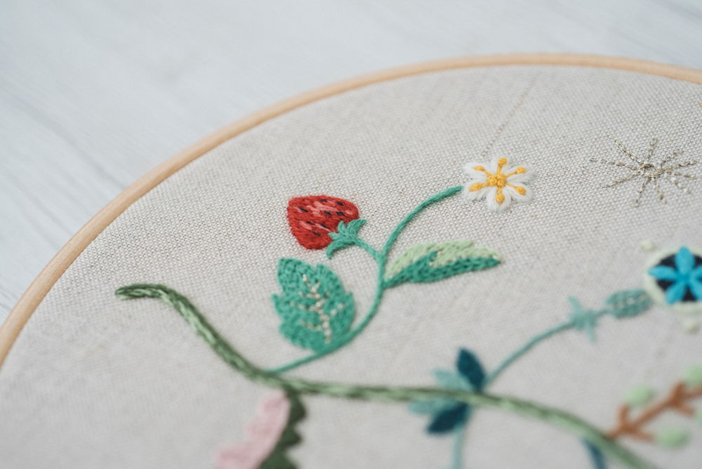 hoop art - contemporary embroidery