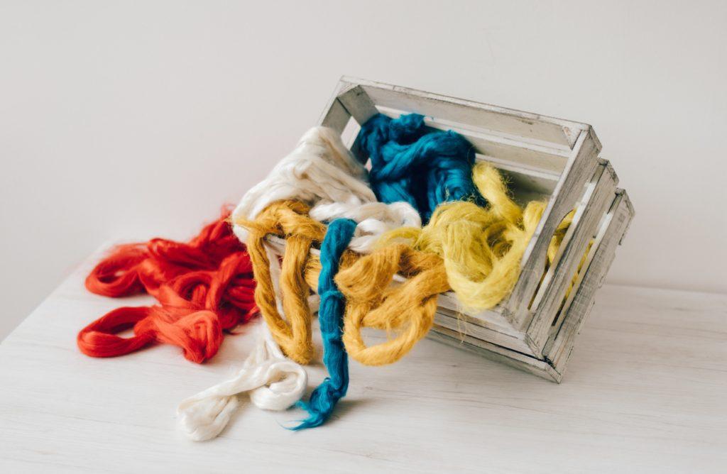 Vegan fibres to use for felting