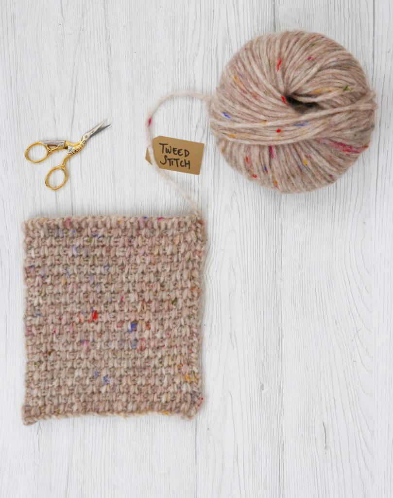 Crochet - Tweed Stitch