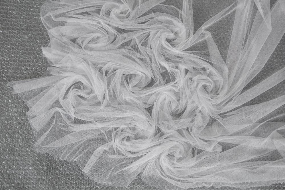 realizzare nuno feltro con il tulle