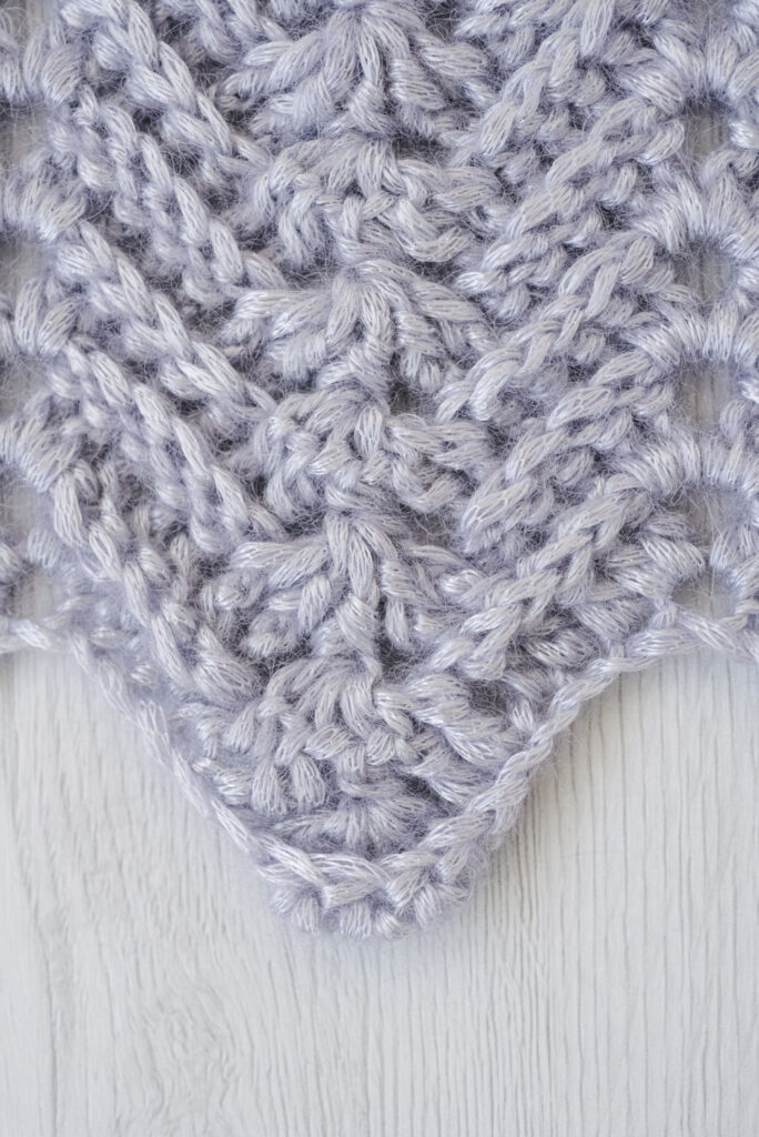 herringbone crochet stitch tutorial